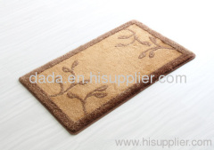 polyacrylic bath mat set
