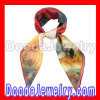 Pure Silk Scarves Medium Square recycled Silk Scarf Shawls Wholesale