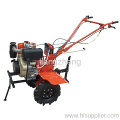 10HP diesel engine electric tiller
