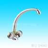 Single level brass faucet