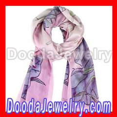 Cheap Designer western Silk Scarf Spurts Draws Long Oblong Silk Scarves Wholesale