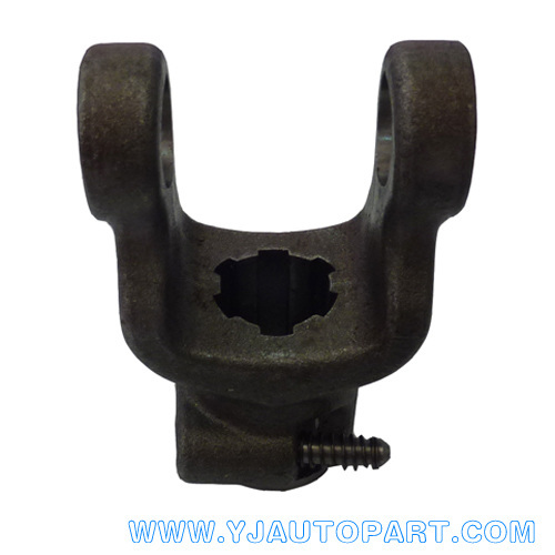 Drive shaft parts Splined yoke for Handwheel with Pin