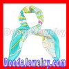Silk Scarf Printed Small Square Brand Silk Scarves Wholesale