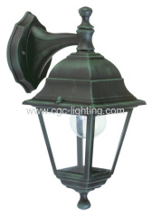 die-cast aluminium 4 side wall mounted garden lamp