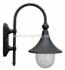 die-cast aluminium outdoor wall lamps