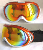 Ski goggles with dual lens