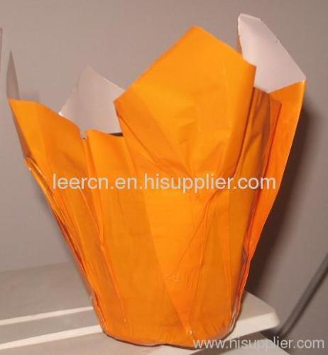 Plastic Flower Pot Cover / Flower Wrapping Sle eves