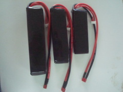 11.1v 2700mAh 30Cbattery pack for RC airplan