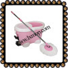 HL004 Pink Color (360 Magic Mop) 3 Drives,Deluxe Model