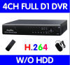 4CH Stand-Alone DVR,H.264 Video recording
