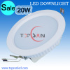 SMD5630 20W 6inch LED downlight & 6inch round led downlight panel
