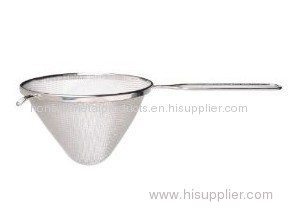 wire mesh colander&stainless steel fine mesh strainer(factory)