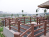 WPC Fence and Railing For Park Facilities(Garden Decoration)
