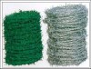 galvanized / pvc coated barbed iron wire