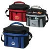 Polyester 12 Can Duet Cooler Bag