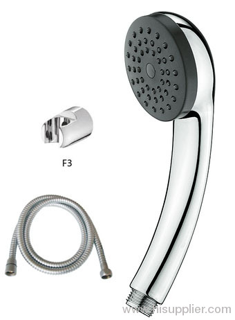 single function water saving hand held shower head with master plumber 59'' stainless steel heavy duty shower hose