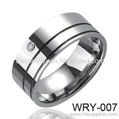 Diamond Rings New Tungsten Wedding Engagement Eternity Fashion Jewelry
