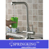Stainless Steel Hot & Cold Water & RO Filter 3 Way Kitchen Faucet