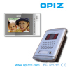 video door phone with 7'' screen and IR CCD camera