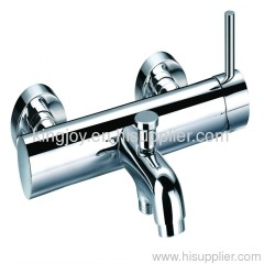 Single lever bath shower mixer
