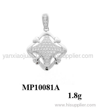 925 Sterling Silver Square Shape Jewelry