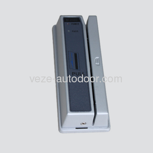 Magnetic card readers for ATM door access