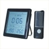 wireless door chime with LCD screen show calendar and temperature