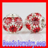 Basketball Wives Earrings Candy Apple Red Crystal Studded Balls Wholesale