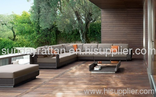 2012 hot sale outdoor 7 person sofa set