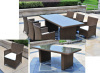 2013 new design all weather rattan outdoor dining chair set
