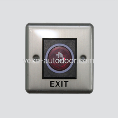 Stainless steel infrared sensor exit button / No touch exit sensor