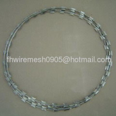 Galvanized Razor Barbed Wire mesh (factory)