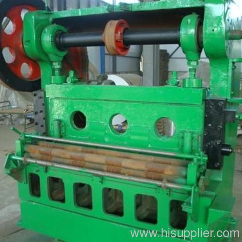 Expand metal mesh machine
