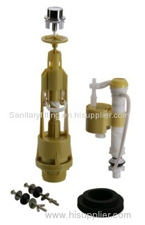 Toilet water tank fitting flush valve