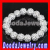 cheap Silver Resin Beads Basketball Wives Bracelets suppliers