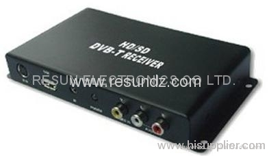 Car HD MPEG-4 DVB-T TV Tuner with HDMI output