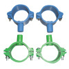 Ductile plastic Tube Clamp