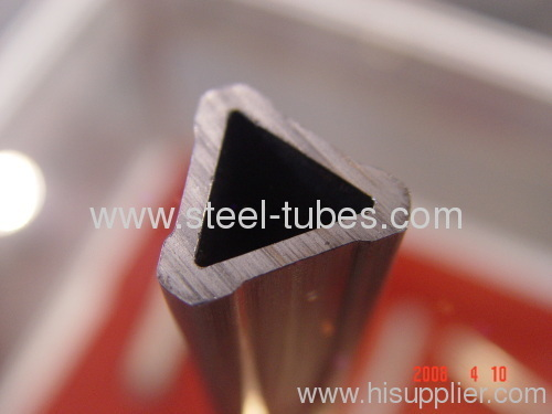Triangle steel tubes
