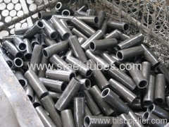 Steel tubes cutting to short lengths