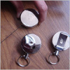 Different shape Retractable badge reel