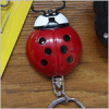 Beetle shape LED mini light with keychain