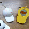Sports cap shape bottle opener