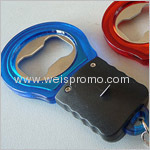 Promotion LED light keychain with bottle opener