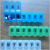 Plastic 7days pill box