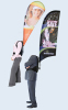 Backpack flag|Backpack banner|walking flag|walking bowflag |display item in China|Advertising flag|advertising products