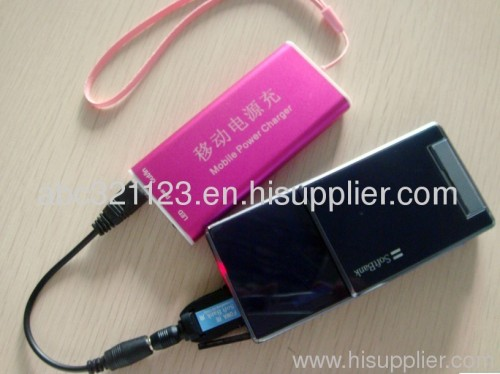 Portable charger; mobile power; mobile phone charger; MP3/MP4/DVD charger