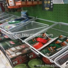 (Supermaket Racks & Storge usage ) Wire Mesh/Storage/Grocery Basket