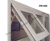 Thermal break awning windows