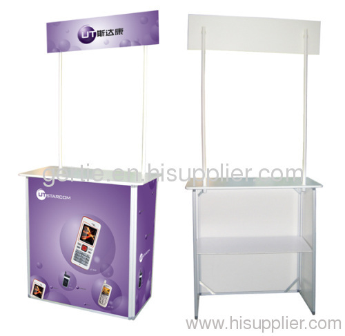 Promotion Table/Promotion Counter/Sales Table/Advertising Table/Banner Stand/Display Stand