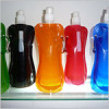 collapsible portable plastic water bottle